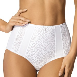 Culotte taille haute Marilyn blanc