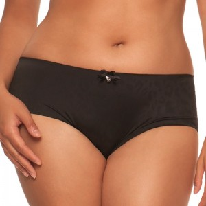 Shorty coutures plates taille haute Smoothie 2 noir